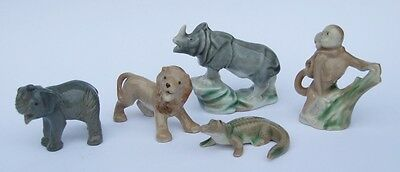 Wade Whimsies SET 4 -  African Jungle Animals (1955-58)