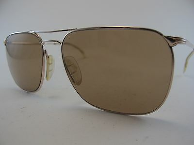 Vintage 60s MARWITZ Optima Gold Filled Sunglasses Men's Large Made in Germany