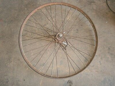 Vintage  Bike, Bicycle, Push Bike, Rear Wheel, May Suit Malvern Star Collector
