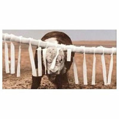Cattle Back Rubber Face Flaps Fly Control Livestock Feedlot Supplies 22 Count
