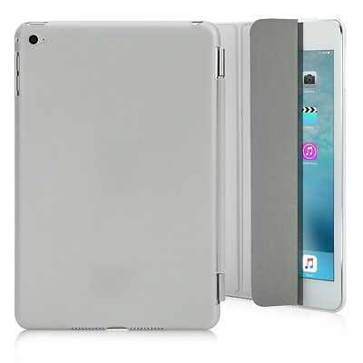 Ultra Slim Magnetic Leather Smart Cover Stand Case for Apple iPad Mini 4 White