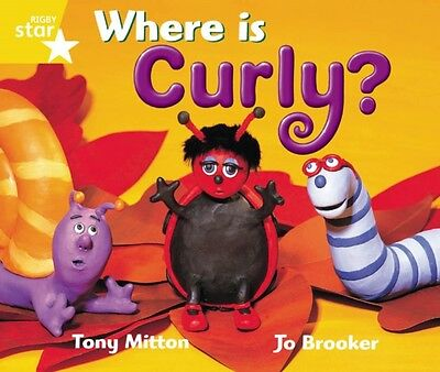 Rigby Star Guided 1 Yellow Level: Where is Curly? Pupil Book (Single) (Paperbac.