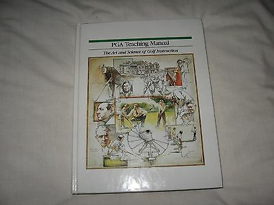Pga Teaching Manual - The Art & Science Of Golf Instruction 1990 Hardcover Wiren