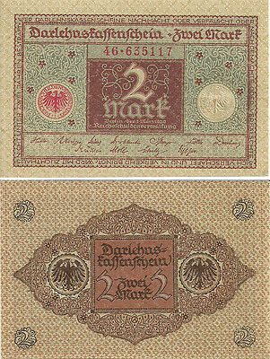 G-01-3a, GERMANY 2 MARKS,1920 P-60, UNCIRCULATED