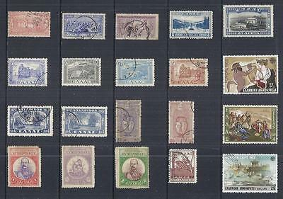 y858 Greece /  A Small Collection Early & Modern Used