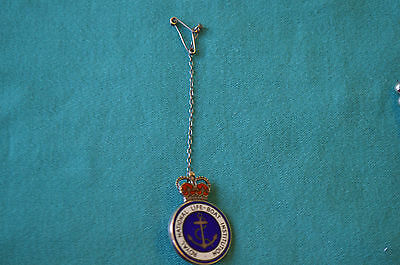 Hallmarked silver Royal National Lifeboat Institution award 1995 No case, as is.