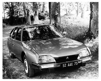 1975 Citroen CX ORIGINAL Factory Photo ouc2917