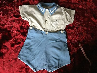 Boys Sailor Suit 1940s Perfect Condition