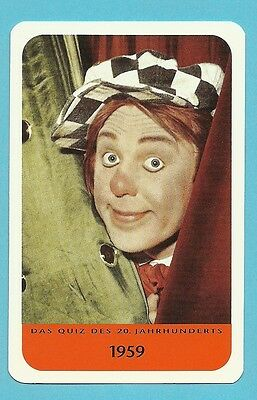 Oleg Popow Russian Clown Cool Collector Card  Europe Have a Look!