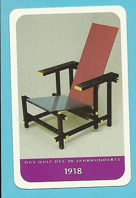 Gerrit Thomas Rietveld Architect Cool Collector Card from Europe