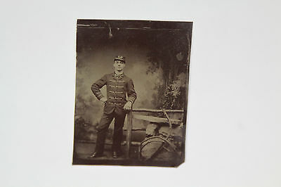Antique Civil War Union Soldier Tintype