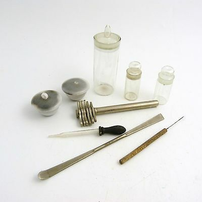 A Collection Of Vintage Medical Items