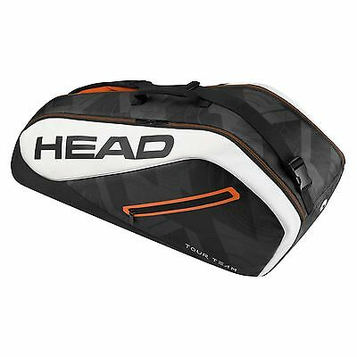 Head Tour Team Combi Squash Sports Tennis 6 Racket Bag
