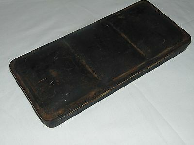 Vintage Reeves Metal Cased Folding Tin Artists Paint Box