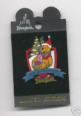 POOH Xmas 2000 Limited Edition - Disney Pin