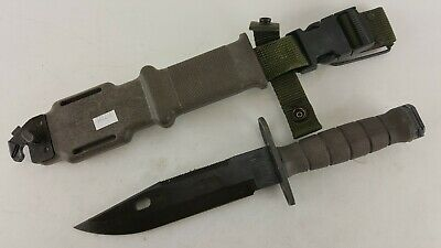 M-9 Lancay M9 Tactical Knife & Scabbard Usgi Usa Made Military Surplus 05