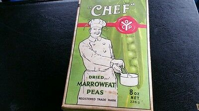 19 60's Full Packet Of Peas. Sheffield