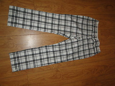Tommy Hilfiger 100% cotton golf trousers  ladies / womens  size uk 8 leg 30
