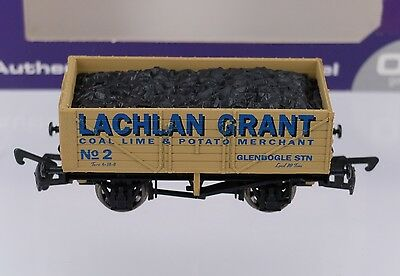 OO Dapol B589 Lachlan Grant 7 Plank Wagon Limited Edition Boxed