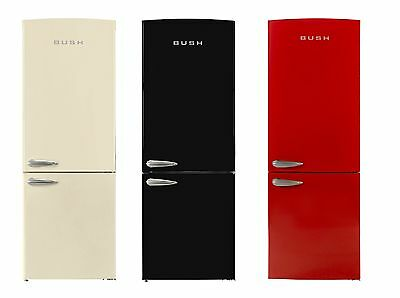 Bush BSFF60 Retro Frost Free Fridge Freezer - Freestanding - Choice of Colour