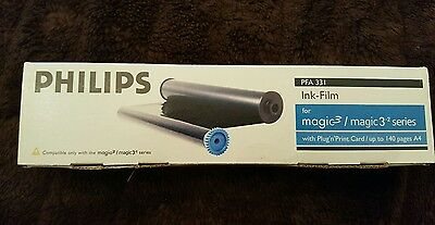 Phillips PFA 331 magic 3 Ink Film With Plug N Print Card - up to 140 pages A4
