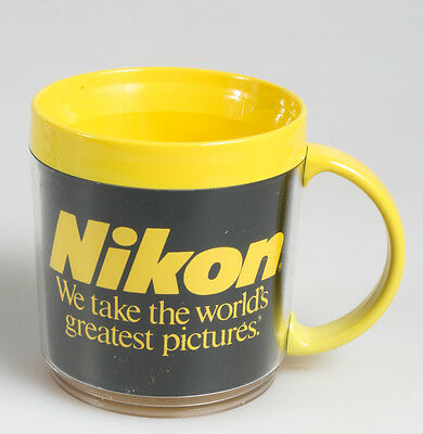 Nikon Bright Yellow Coffee Mug