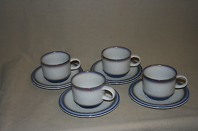Goebel  Bavaria Country Auvergne Pattern Cup & Saucer X 4 40182