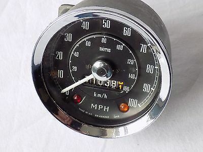 Vintage,classic Car Smiths Speedometer. Sn -4214/00  1248.  100 Mph.