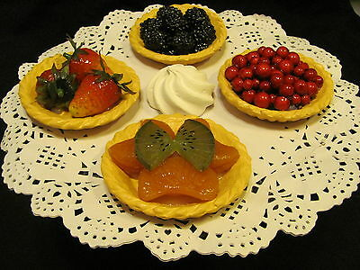 Fake Artificial Cakes Pastries Pastry,fruit Tarts ,food Prop  29