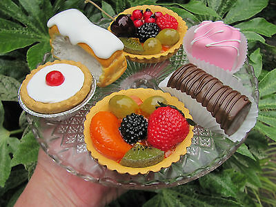 Tea Room Cake Selection  Fake Food Artificial Prop,window Display, 16