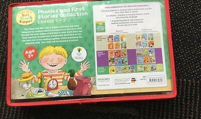 Biff Chip & Kipper  Reading Book Set Level 1 To 3