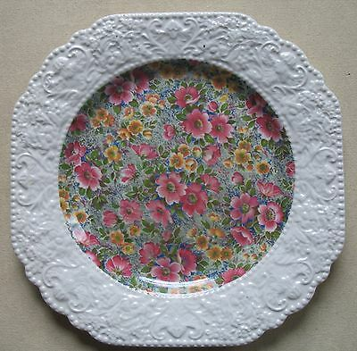"""Vintage BCM LORD NELSON WARE """"BRIAR ROSE"""" Plate - Made in England - 8.5"""""""