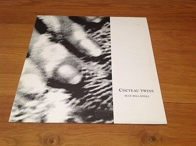 """Cocteau Twins """"blue Bell Knoll"""" Vinyl Ablum Excellent Used  Condition"""