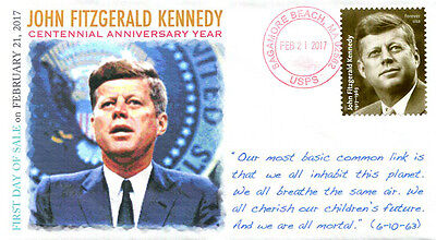 COVERSCAPE computer generated John F. Kennedy First Day of Sale cover