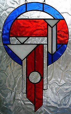 Handcrafted Stained Glass Suncatcher