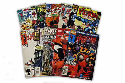 10 Comic Book bundle lot with  10 Spider-Man Random Comic Collection