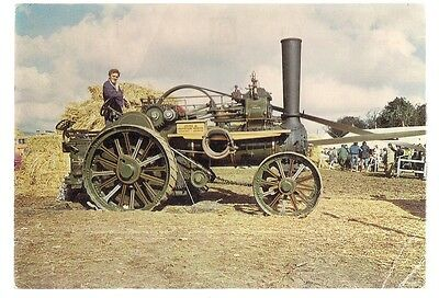 LORD CHARLIE,  Fowler General Purpose Traction Engine unused postcard by Judges