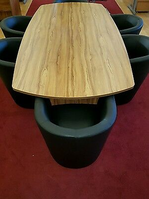 NEW 2.4 m Boardroom Conference Meeting Table And 6 new Chairs