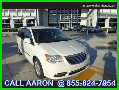 2013 Chrysler Town & Country Touring 2013 Touring Used 3.6L V6 24V Automatic Front Wheel Drive Minivan/Van