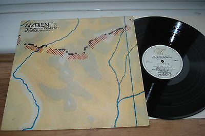 Brian Eno Ambient 2 The Plateaux Of Mirror NICE AUDIO! EX/VG+ ORIGINAL 1980 LP