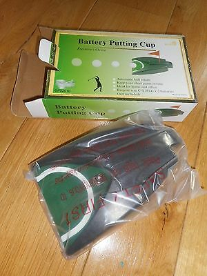 Golf - Battery Operated Putting Cup with automatic ball return - NEW