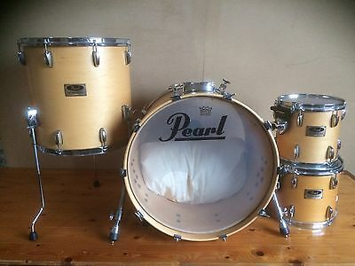Pearl Maple Session Series 22 Bass Drum 16 12 10 Toms