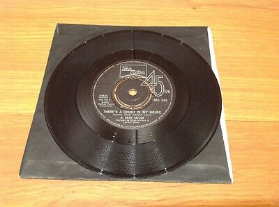 """R. DEAN TAYLOR """"THERE IS GOST IN MY HOUSE / """"LET'S GO SOMEWHERE"""" 7""""vinyl single"""