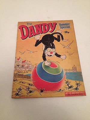 Dandy Summer Special 1971 Rare Comic Very Good Condition