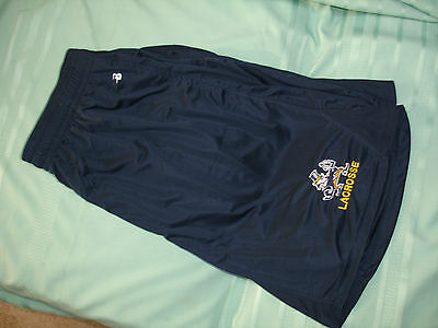 Notre Dame Lacrosse Blue Loose Shorts XL Badger Sport VG Cond +See My Store