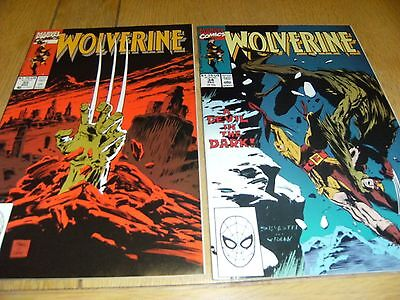 Wolverine Vol 1    # 33 And # 34    1990