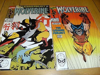 Wolverine Vol 1    # 27 And # 29    1990