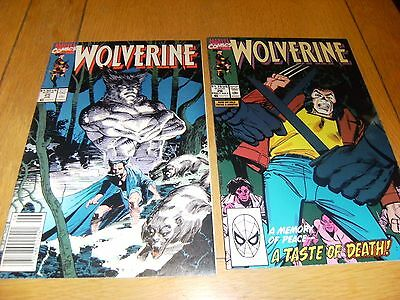Wolverine Vol 1    # 25 And # 26    1990