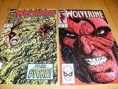 Wolverine Vol 1    # 21 And # 22    1990