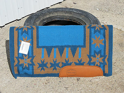 """New Pro Ride New Zealand saddle pad western blanket show .5"""" thick horse 30""""x30"""""""